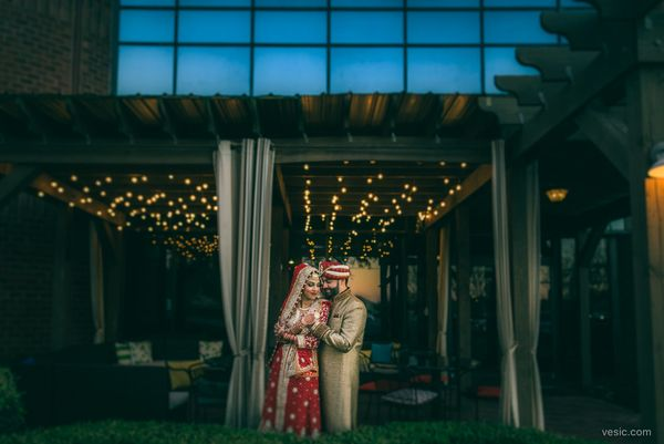 """Nasir and Faiza got married on the last Friday of the month in Greenville, North Carolina."" --<i> <strong></strong>Hoom"