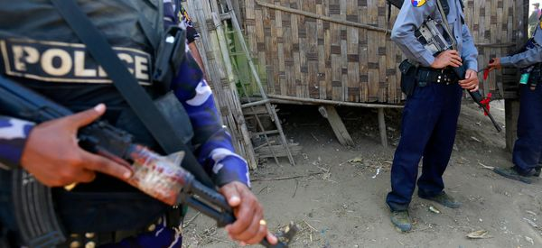 Myanmar Vows Action After Video Shows Police Beating Rohingya Muslims
