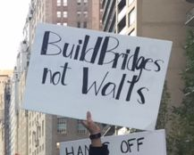 """Build Bridges, not Walls"", New York City, November 13, 2016"