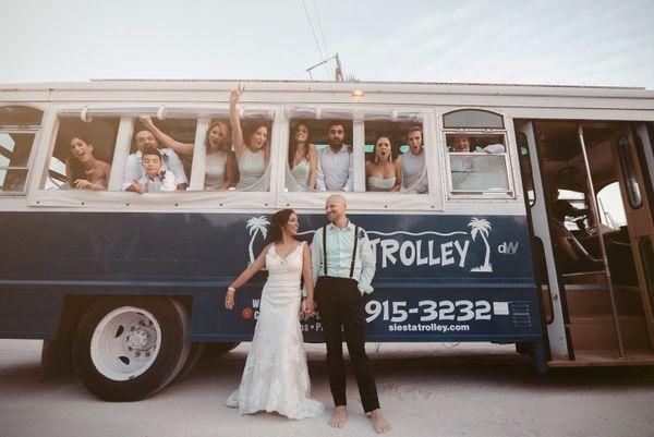 """Andreina and Brook's beach wedding in Siesta Key, Florida."" -- <i>Wendell Daltirus</i>"