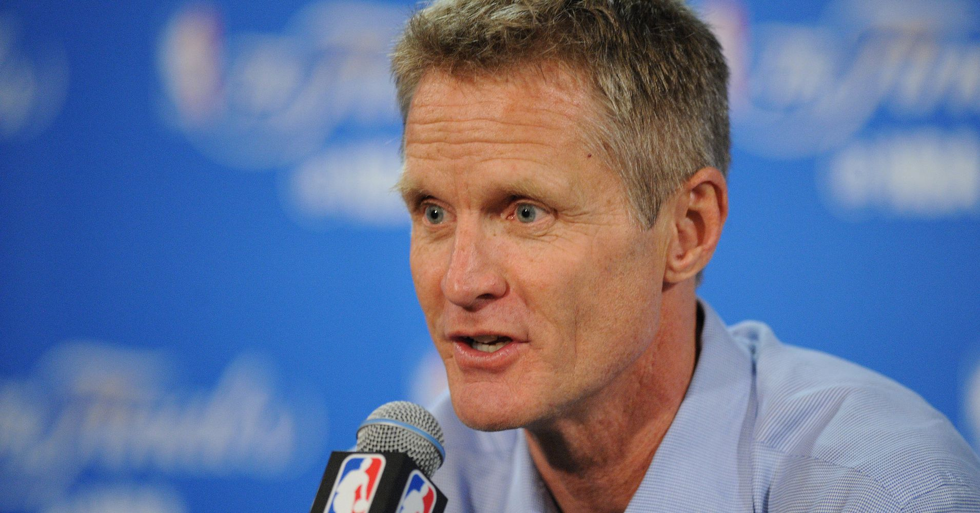 Steve Kerr Says It's Hard To Look At His Daughter And Wife ...