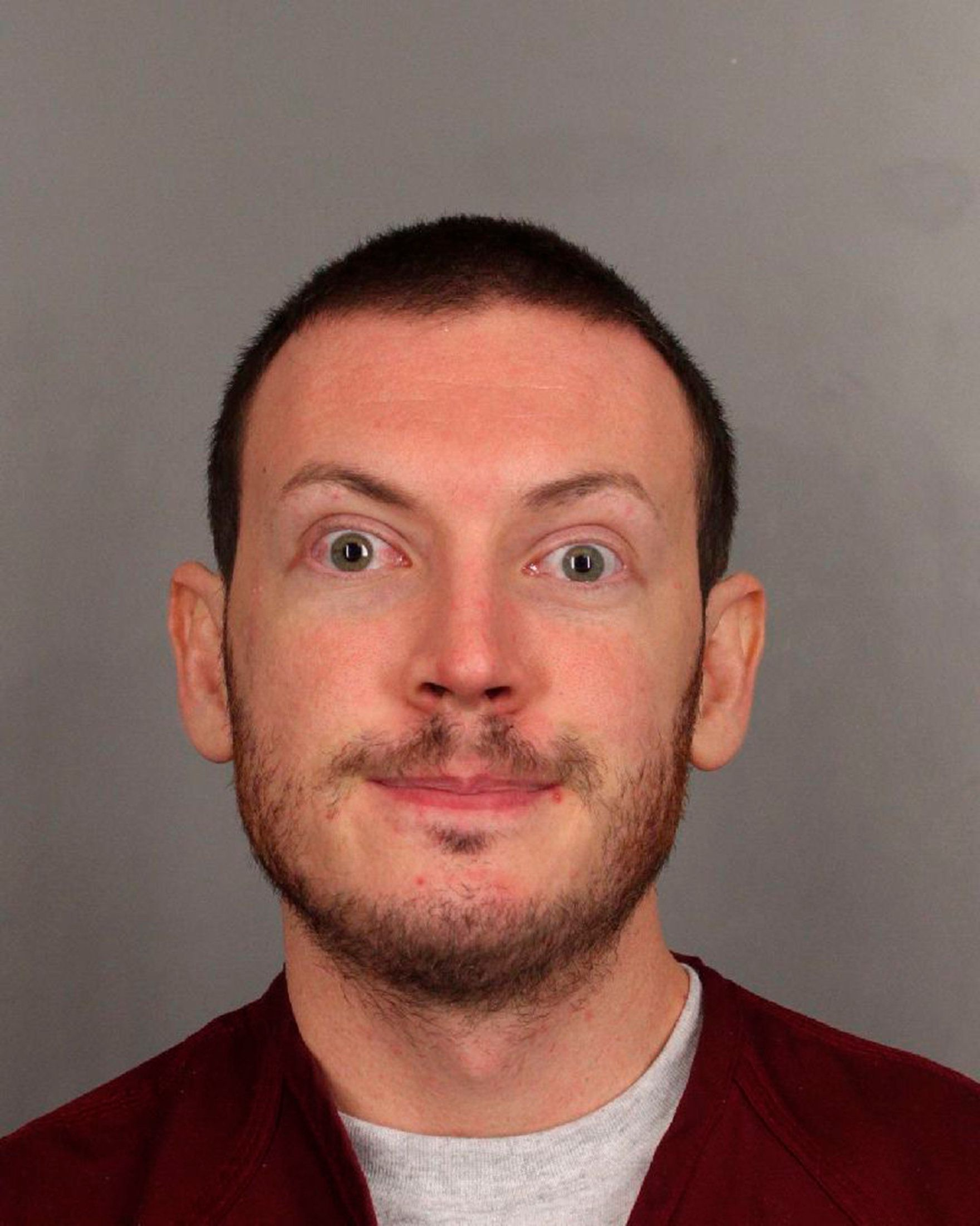 "James Holmes is seen in this undated police handout photo. Holmes, a former neuroscience graduate student, is accused of opening fire on July 20 at a midnight screening of the Batman movie ""The Dark Knight Rises"" in Aurora, a Denver suburb. Twelve people were killed and 58 wounded in the attack. REUTERS/Arapahoe County Sheriff's Office/Handout (UNITED STATES - Tags: CRIME LAW HEADSHOT TPX IMAGES OF THE DAY) FOR EDITORIAL USE ONLY. NOT FOR SALE FOR MARKETING OR ADVERTISING CAMPAIGNS. THIS IMAGE HAS BEEN SUPPLIED BY A THIRD PARTY. IT IS DISTRIBUTED, EXACTLY AS RECEIVED BY REUTERS, AS A SERVICE TO CLIENTS"