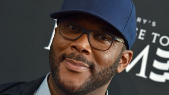 BEVERLY HILLS, CA - AUGUST 16:  Director Tyler Perry arrives at the screening of 'Too Close to Home' at The Paley Center for Media on August 16, 2016 in Beverly Hills, California.  (Photo by Axelle/Bauer-Griffin/FilmMagic)