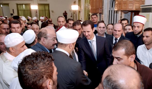 Syria's Bashar Assad Celebrates Eid Al Adha In A Place His Regime Starved And Bombed For