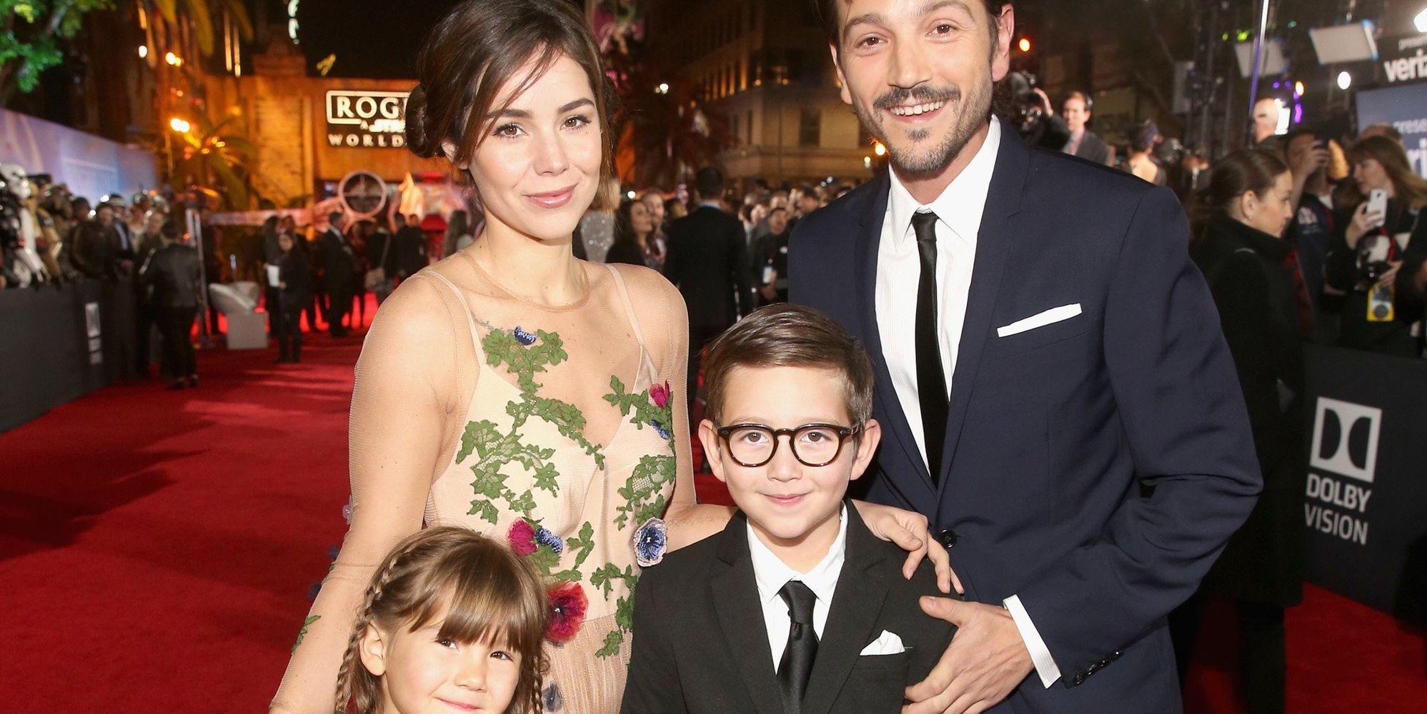 Diego Luna Found His Son Spilling