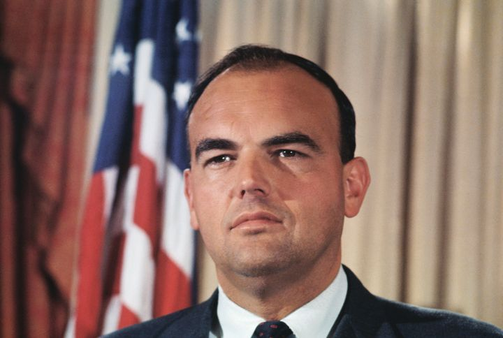 John Ehrlichman, advisor to President Richard Nixon.