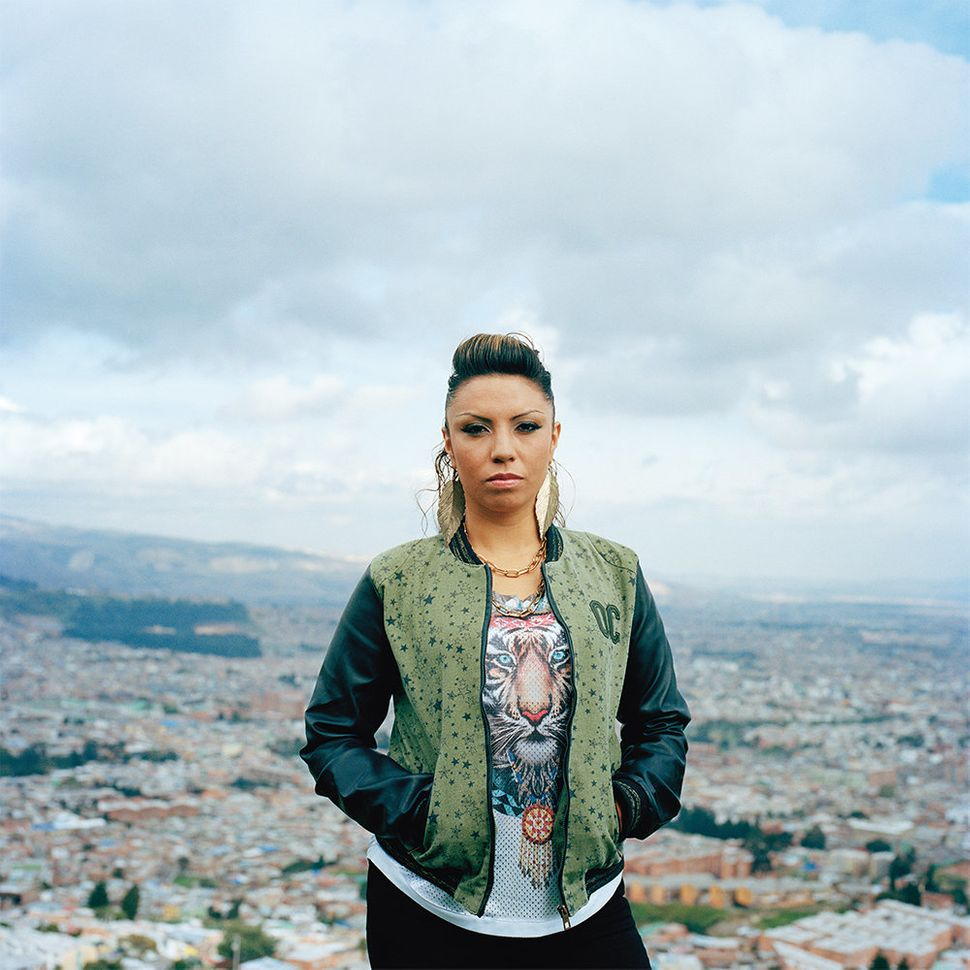 Rap artist Diana Avela from Bogotá, Colombia. She is raising her voice against inequality and injustice while fighting