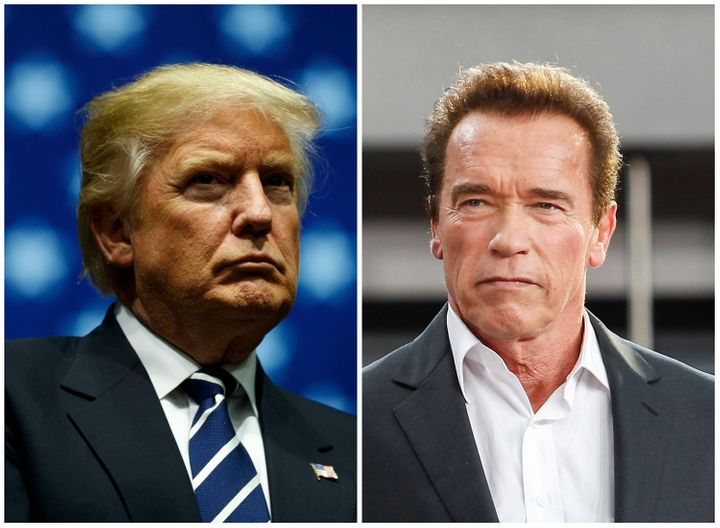 Donald Trump and Arnold Schwarzenegger have both been accused of groping women without their consent in the past.