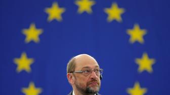 European Parliament President Martin Schulz attends a debate at the European Parliament in Strasbourg, France, December 13, 2016.   REUTERS/Vincent Kessler