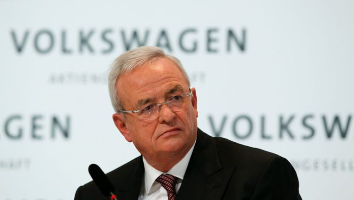 Former Volkswagen CEO Martin Winterkorn.