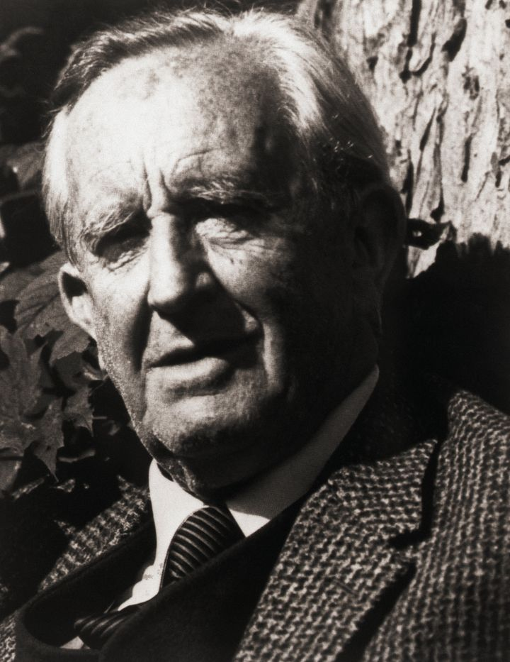 (Original Caption) Portrait of British author J.R.R. Tolkien (1892-1973). Undated photograph, filed 1/31/1979.