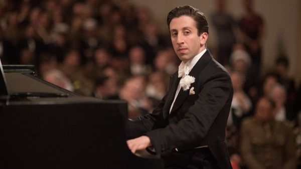 "Oh sure, ""Big Bang Theory"" star Simon Helberg is lovable as a jittery, closeted pianist in ""Florence Foster Jenkins,"" bu"