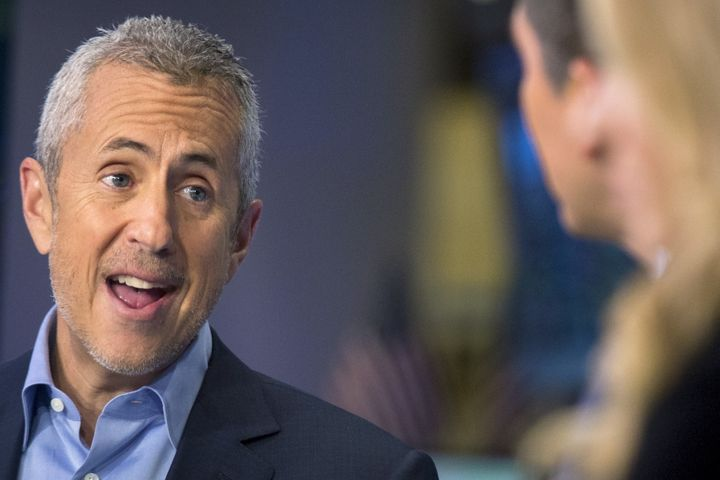 Danny Meyer, restaurateur and the CEO of the Union Square Hospitality Group speaks during an interview on CNBC on the floor o
