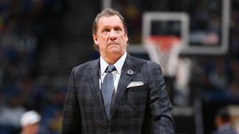 MINNEAPOLIS, MN - MARCH 22:  Head Coach Flip Saunders of the Minnesota Timberwolves during the game against the Charlotte Hornets on March 22, 2015 at Target Center in Minneapolis, Minnesota. NOTE TO USER: User expressly acknowledges and agrees that, by downloading and or using this Photograph, user is consenting to the terms and conditions of the Getty Images License Agreement. Mandatory Copyright Notice: Copyright 2015 NBAE (Photo by David Sherman/NBAE via Getty Images)