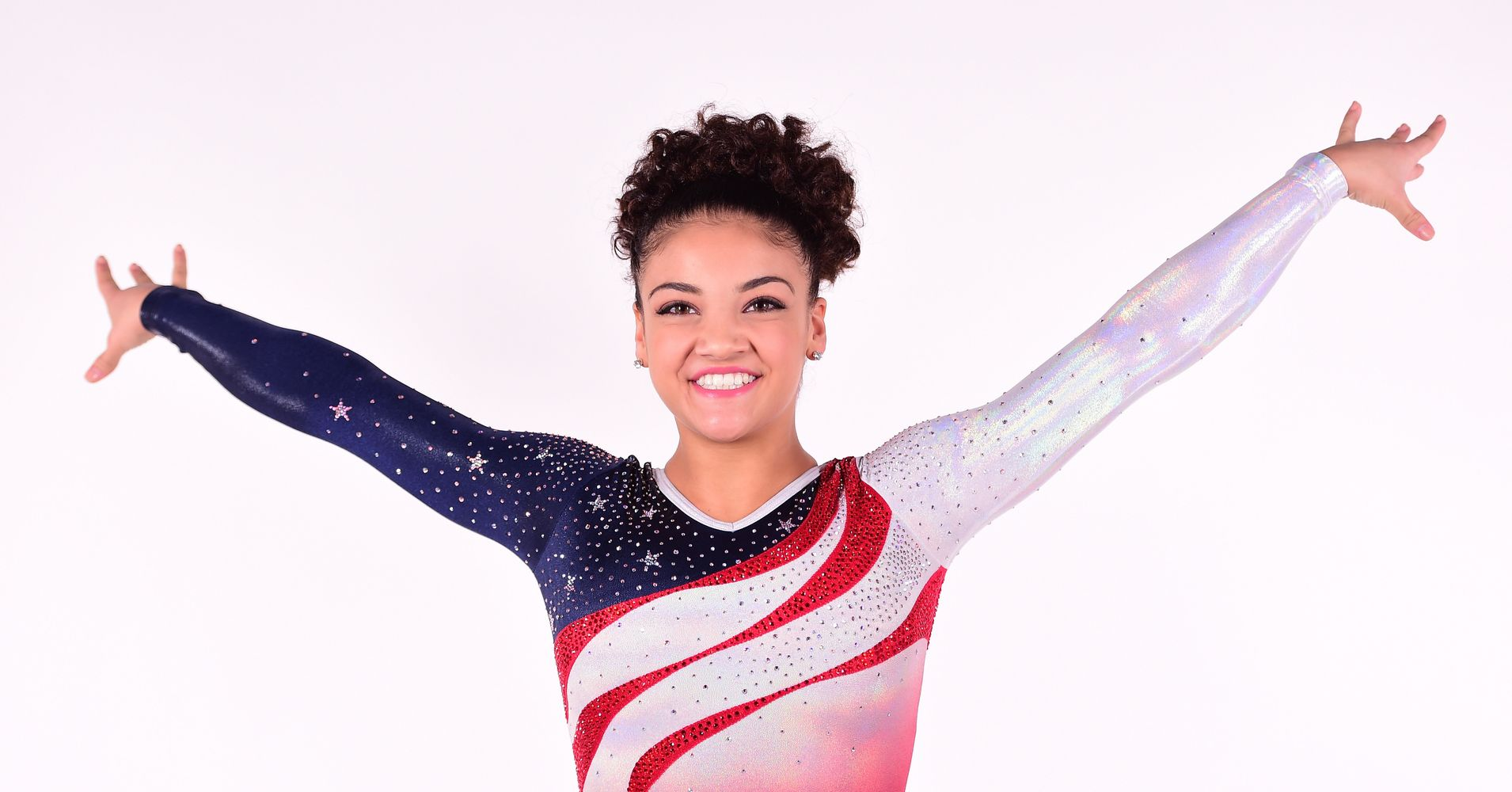 Here S The Dazzling Beam Routine That Got Laurie Hernandez