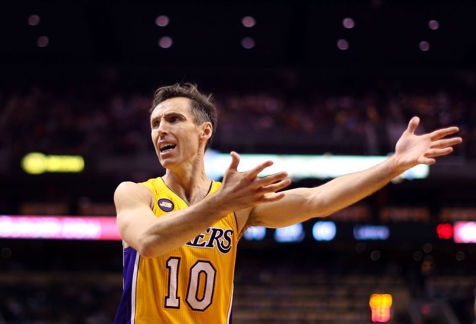 premium selection 69614 90486 Steve Nash Dissects Why The NBA's Rookie-Veteran ...