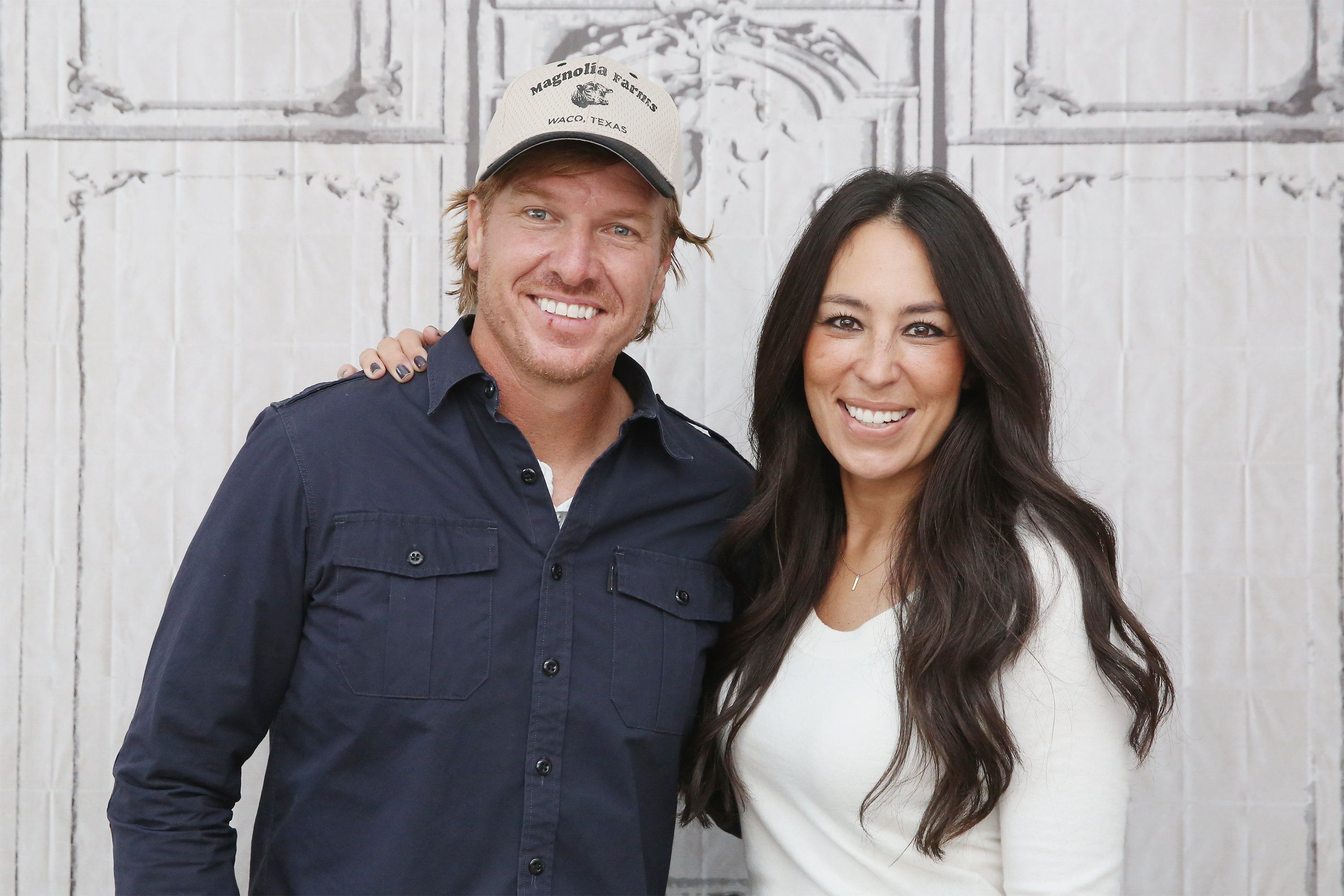 Chip Gaines (left) didn't address the December controversy directly, but the implication seemed clear.
