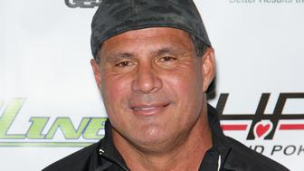 LAS VEGAS, NV - DECEMBER 03:  Former Major League Baseball player Jose Canseco attends the All in for CP celebrity charity poker event at the Rio Hotel & Casino benefiting the One Step Closer Foundation's effort to fight Cerebral Palsy on December 3, 2016 in Las Vegas, Nevada.  (Photo by Gabe Ginsberg/Getty Images)