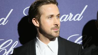 PALM SPRINGS, CA - JANUARY 02:  Actor Ryan Gosling arrives at the 28th Annual Palm Springs International Film Festival Film Awards Gala at the Palm Springs Convention Center on January 2, 2017 in Palm Springs, California.  (Photo by David Livingston/Getty Images)