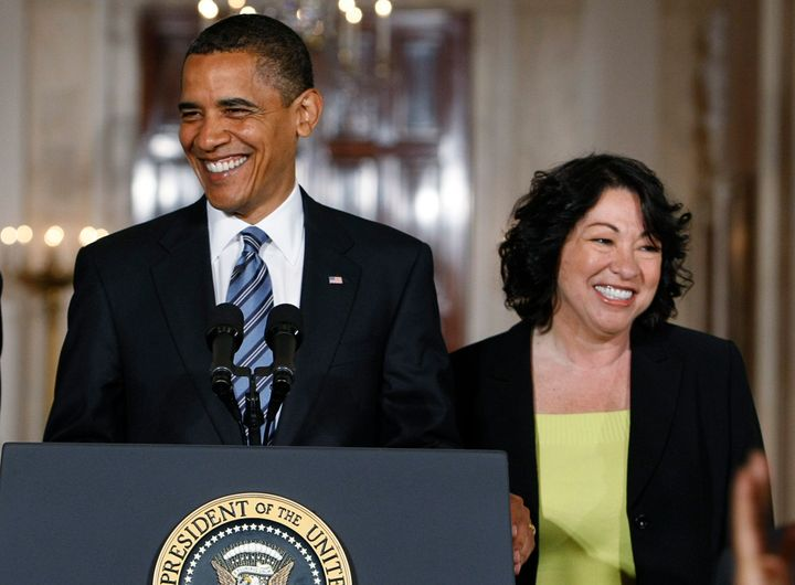 President Barack Obama appointed two U.S. Supreme Court justices, including Sonia Sotomayor, and four D.C. Circuit Court judg