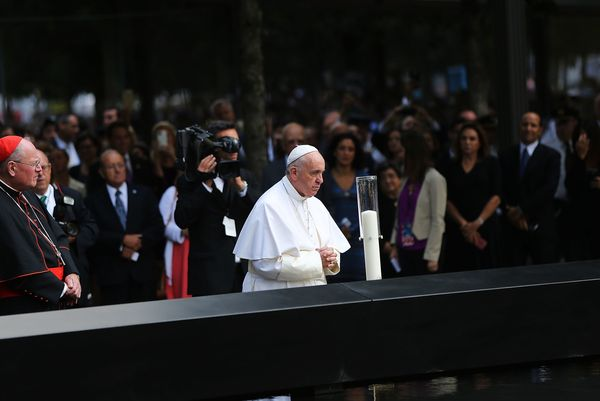 "During his September trip to the United States, Pope Francis <a href=""https://www.huffpost.com/entry/pope-francis-911-memoria"
