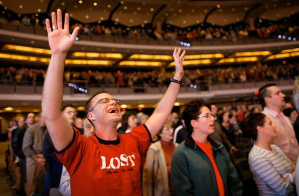 "In 1960 there were just a handful of churches that might be described as ""megachurches,"" those with a charismatic"