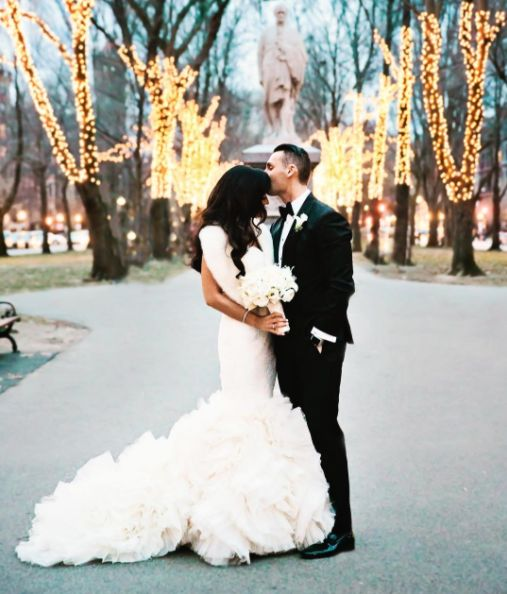 """Not a bad way to close out 2016 with this stunning couple on a freezing but beautiful winter day."" -- <i>Carly Michelle</i>"