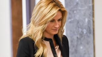 NASHVILLE, TN - MARCH 04:  Sportscaster and television personality Erin Andrews arrives in court on March 4, 2016 in Nashville, Tennessee.  Andrews is taking legal action against the operator of the Nashville Marriott at Vanderbilt University, where she was staying while covering a football game for ESPN, for invasion of privacy in a USD 75 million dollar suit after a man at the hotel took a nude video of her through her hotel room door peep hole in 2008.  (Photo by Erika Goldring/Getty Images)