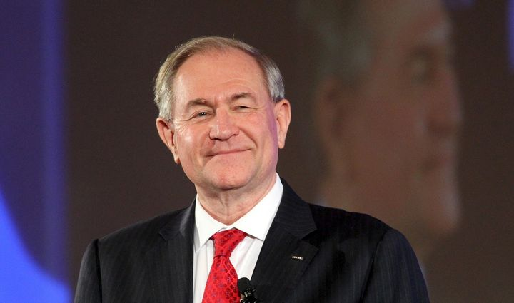 At least Jim Gilmore can say his supporters are committed.