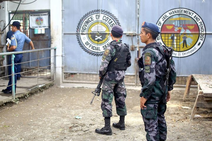 At least 158 inmates escaped from a jail in the southern Philippines on Wednesday when suspected Muslim rebels stormed the di