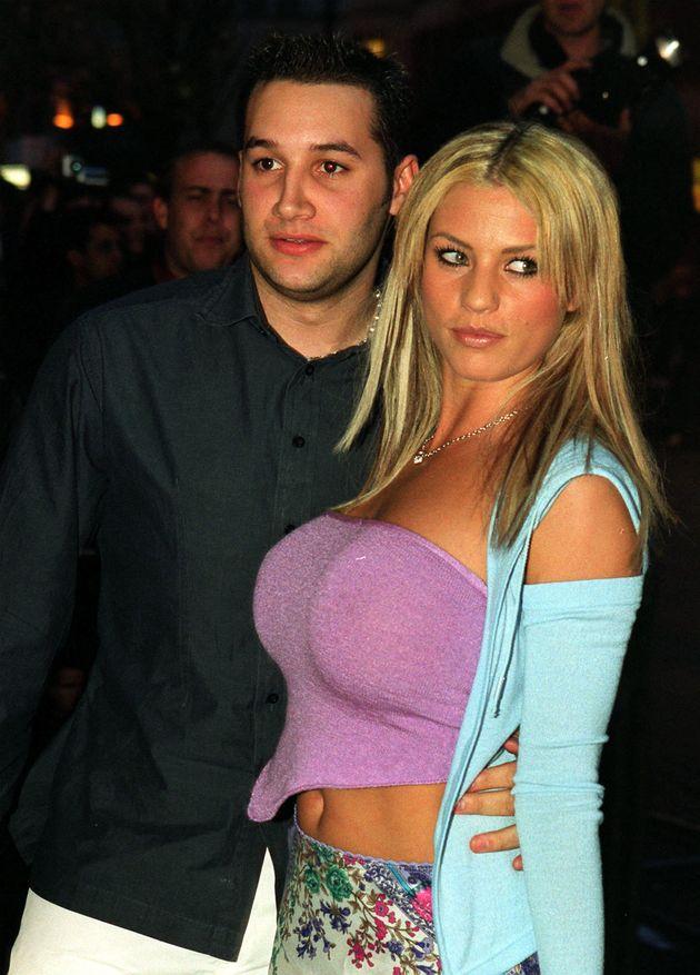 Katie with her ex, Dane