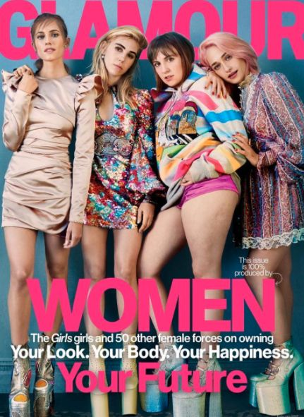 Lena Dunham's Cellulite Is Centre Stage On Glamour's Latest Cover - And She Couldn't Be Happier About