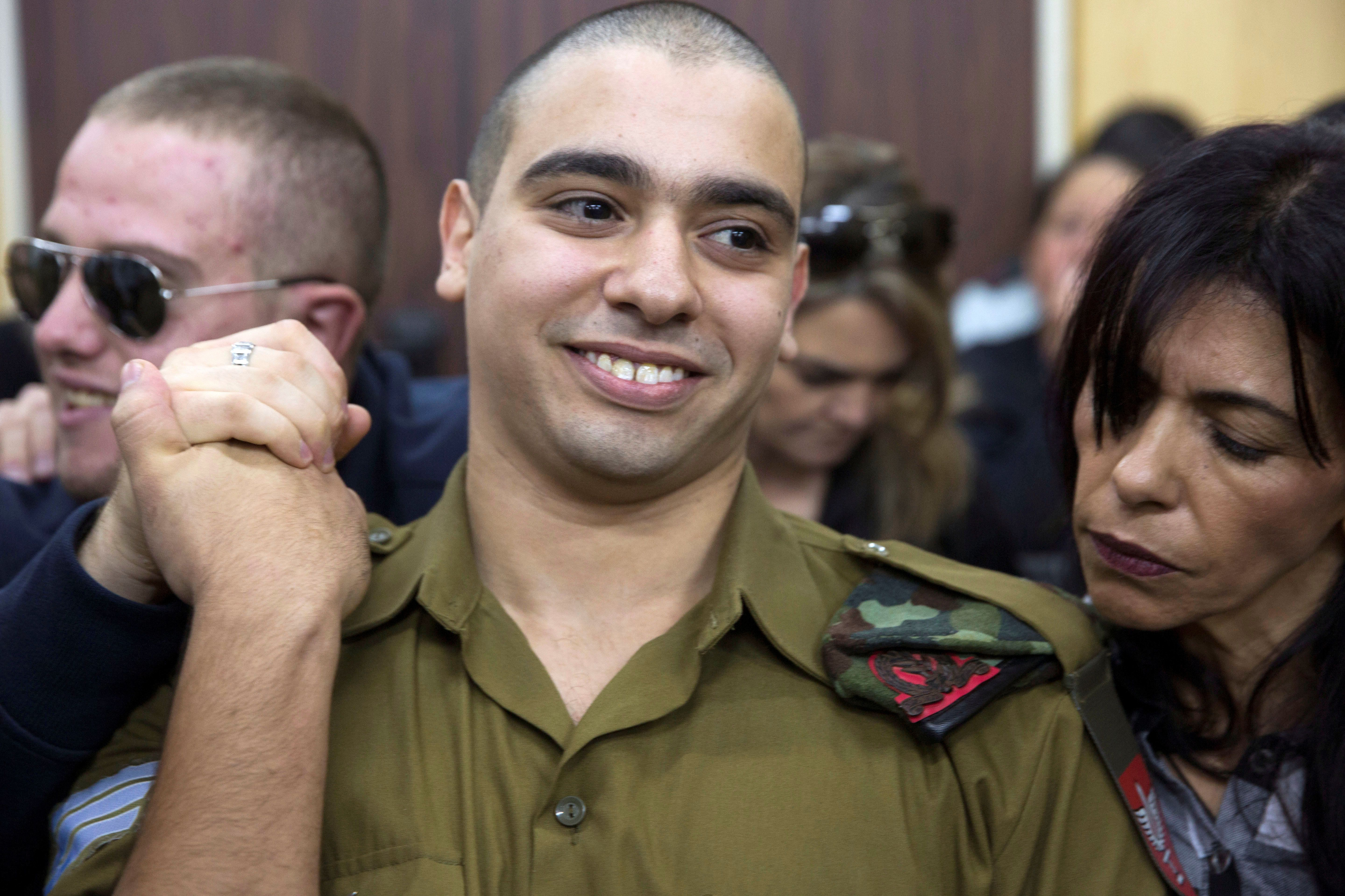 Israeli Soldier Convicted Of Manslaughter In Killing Of Immobile Palestinian