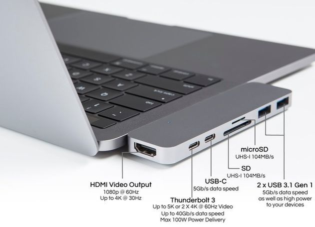 MacBook Pro Adaptor Gives It The Same Features As Older Model Has Over $1m Pledges On
