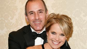 NEW YORK - MAY 05: Katie Couric and Matt Lauer attend the Museum of the Moving Image Honoring of Katie Couric & Phil Kent at the St. Regis Hotel on May 5, 2010 in New York City. (Photo by John Lamparski/WireImage)