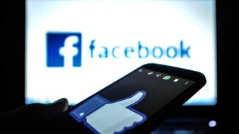The website of facebook. (Newscast/UIG via Getty Images)