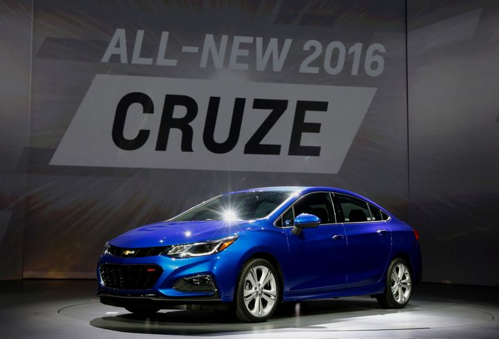 The Chevrolet Cruze sedans sold in the U.S. are built in a plant in Lordstown, Ohio.