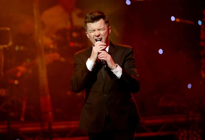 Rick Astley, pictured in November 2016, says the unnamed beer will be a lager.