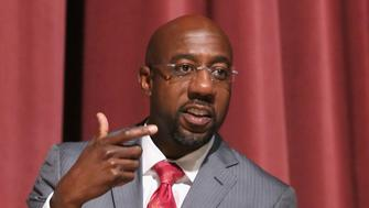 ATLANTA, GA - SEPTEMBER 19:  Rev. Dr. Raphael G. Warnock speaks at the BET HIS Town Hall at Morehouse College - Ray Charles Performing Arts Center on September 19, 2014 in Atlanta, Georgia.  (Photo by Bennett Raglin/BET/Getty Images for BET)
