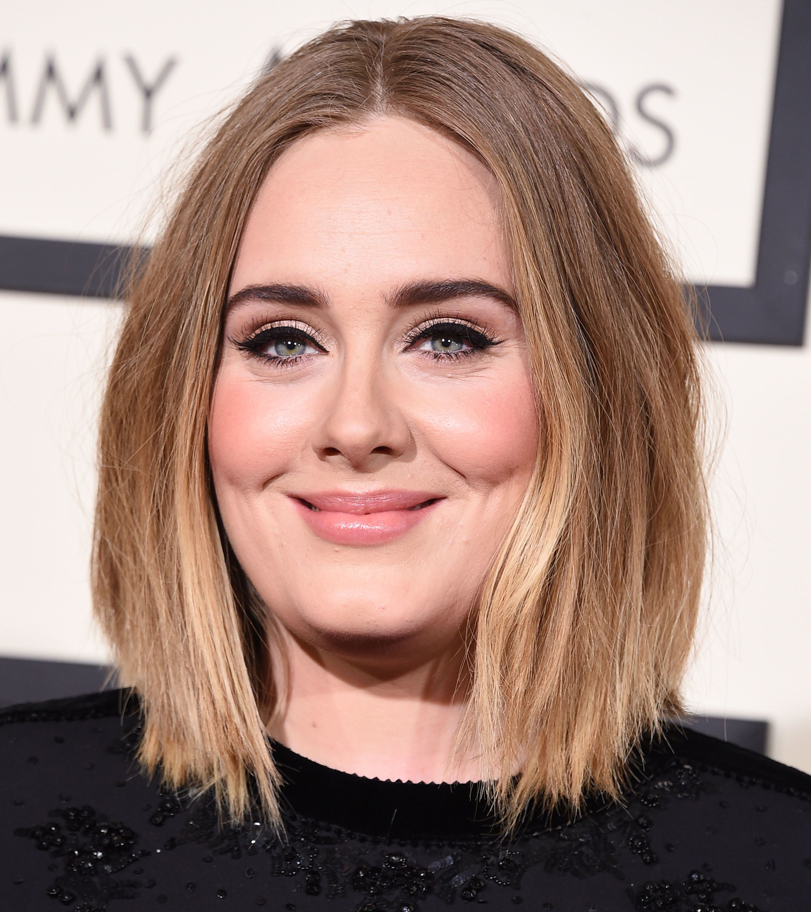 LOS ANGELES, CA - FEBRUARY 15:  Adele arrives at the The 58th GRAMMY Awards at Staples Center on February 15, 2016 in Los Angeles City.  (Photo by Steve Granitz/WireImage)