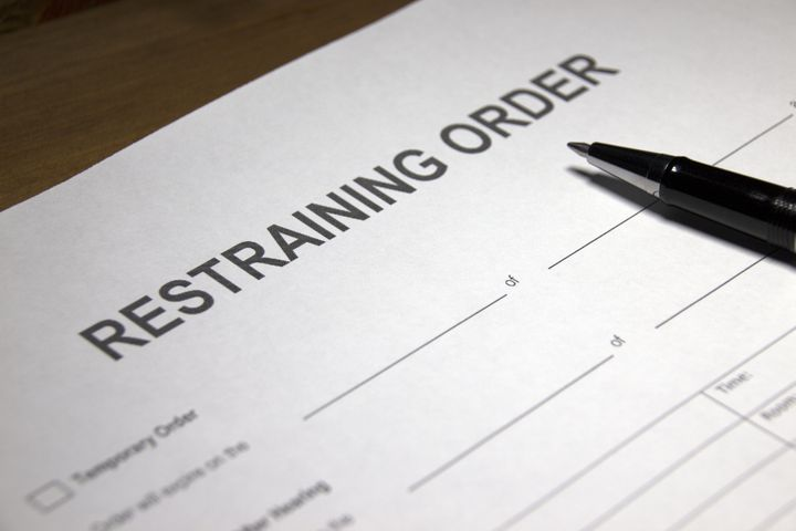 how to respond to domestic violence restraining order