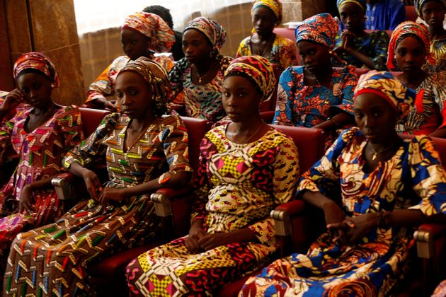 The Nigerian government negotiated with the terrorist group to release 21 Chibok girls in October