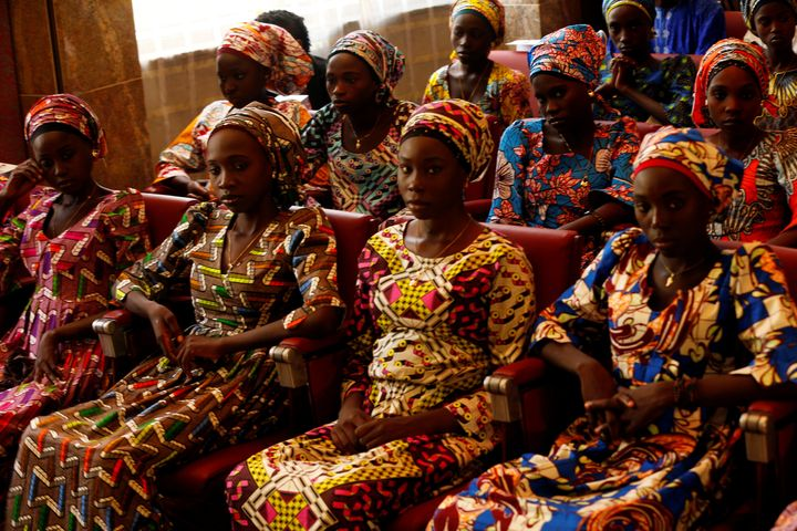 The Nigerian government negotiated with the terrorist group to release 21 Chibok girls in October 2016.