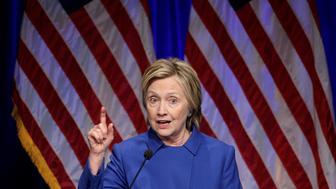 Hillary Clinton speaks to the Children's Defense Fund in Washington, U.S., November 16, 2016. REUTERS/Joshua Roberts