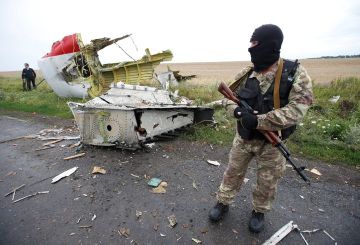 According to my research, Russia applied a similar tactic to the downing of MH17.