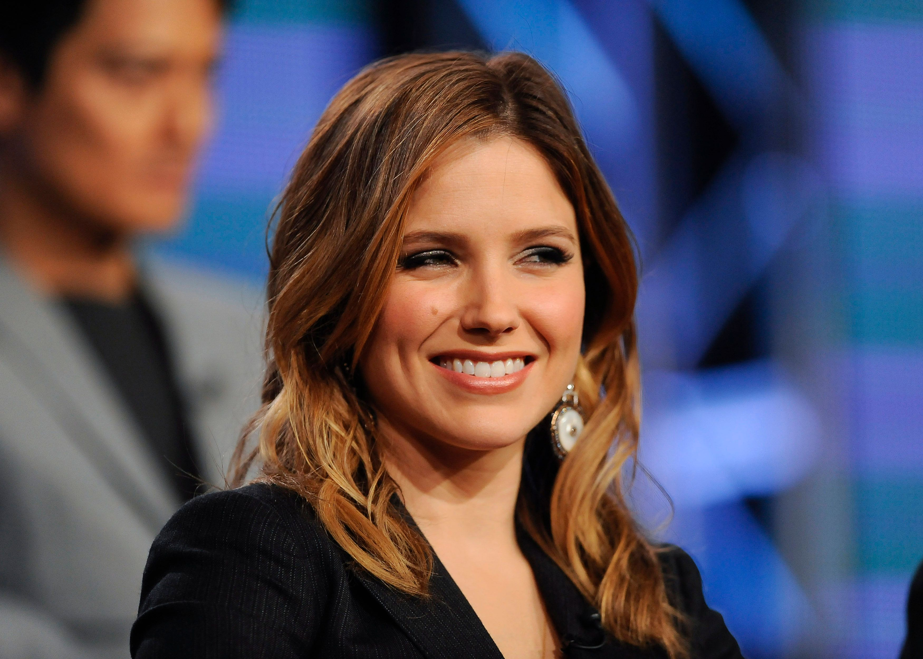 """Actress Sophia Bush from the series """"Chicago P.D."""" takes part in a panel discussion at the NBC portion of the 2014 Winter Press Tour for the Television Critics Association (TCA) in Pasadena, California, January 19, 2014. REUTERS/Gus Ruelas (UNITED STATES - Tags: ENTERTAINMENT HEADSHOT)"""