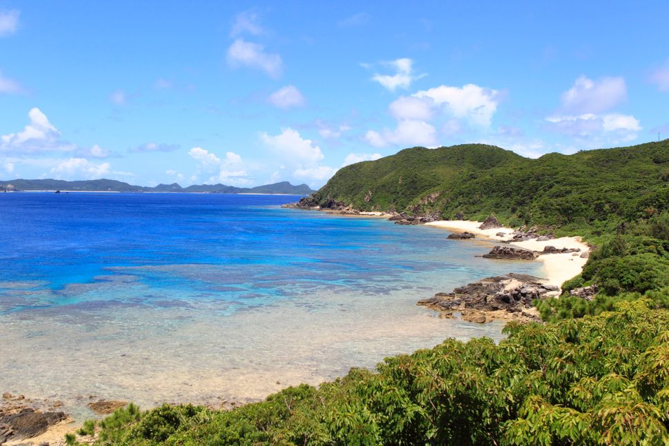 Hijuishi Beach on Tokashiki Island, one of the Kerama Islands