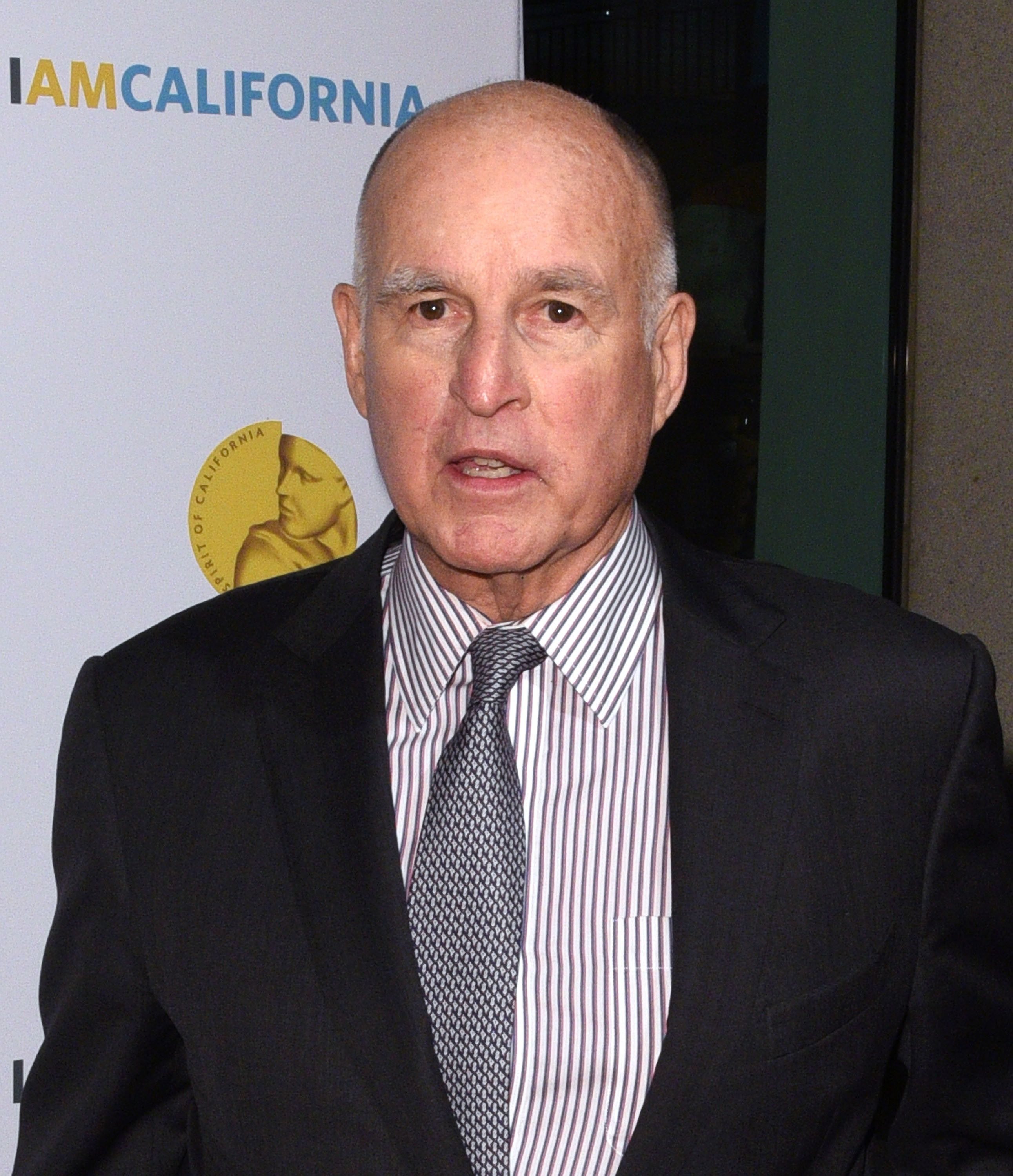SACRAMENTO, CA - NOVEMBER 30:  Governor of California, Edmund G. 'Jerry' Brown, Jr. attends the 10th Annual California Hall Of Fame Ceremony at The California Museum on November 30, 2016 in Sacramento, California.  (Photo by C Flanigan/FilmMagic)