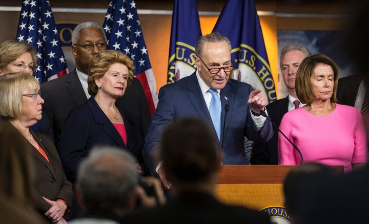 Democratic Senate leader Chuck Schumer has a battle ahead in the 2018 midterm elections.