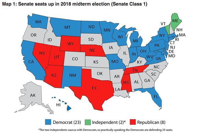 Democrats Look At The Map And Get Ready To Fight For The - Huffington post us election map